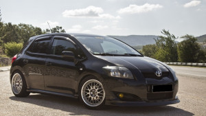 Toyota Auris 2007-2012 - Дефлекторы окон (ветровики), к-т 4 шт, темные. SIM фото, цена