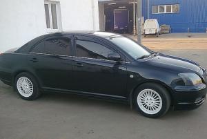 Toyota Avensis 2003-2008 - Дефлекторы окон (ветровики), к-т 4 шт, темные. SIM фото, цена