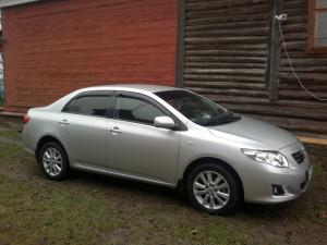 Toyota Corolla 2007-2012 - Дефлекторы окон (ветровики), к-т 4 шт, темные (Sed). SIM фото, цена
