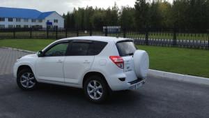 Toyota Rav 4 2006-2012 - Дефлекторы окон (ветровики), к-т 4 шт, темные. SIM фото, цена