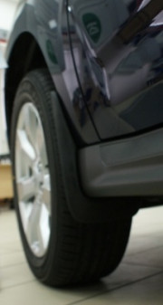 Mitsubishi Outlander 2007-2010 - Брызговики передние, к-т 2 шт. L.Locker фото, цена