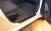 Alfa Romeo 156 1997-2007 - Накладки на внутренние порожки, к-т 4 шт. (НатаНико) фото, цена