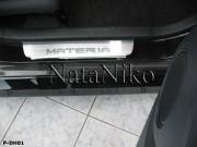 Daihatsu Materia 2008-2010 - Порожки внутренние к-т 4шт фото, цена