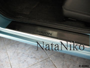 Daihatsu Sirion 2008-2010 - Порожки внутренние к-т 4шт фото, цена