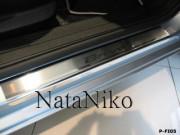 Fiat Bravo 2007-2010 - Порожки внутренние к-т 4шт фото, цена