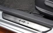 Hyundai i40 2013-2015 - Порожки внутренние к-т 4 шт. (НатаНико) фото, цена
