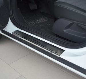 Opel Corsa 2006-2010 - Порожки внутренние к-т 4шт фото, цена