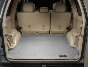 Toyota Land Cruiser Prado 2003-2008 - Коврик резиновый в багажник, серый. (WeatherTech) фото, цена