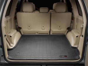 Toyota Land Cruiser Prado 2003-2008 - Коврик резиновый в багажник, черный. (WeatherTech) фото, цена