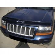 Jeep Grand Cherokee 1999-2004 - Дефлектор капота (мухобойка), VIP Tuning фото, цена