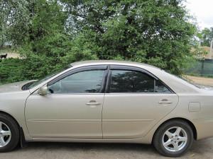 Toyota Camry 2001-2005 - Дефлекторы окон (ветровики), комлект 4 шт. (Cobra Tuning) фото, цена