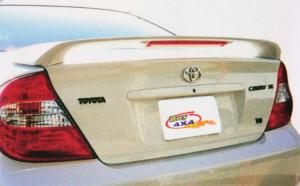 Toyota Camry 2001-2005 - Cпойлер на крышку багажника, со стоп-сигналом, под покраску. (Niken) фото, цена