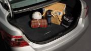 Toyota Camry 2006-2011 - Коврик в багажник, текстильный, темно-серый.  (Toyota) фото, цена