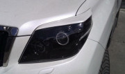 Toyota Land Cruiser Prado 2009-2012 - Реснички на фары  к-т 2 шт. (Под покраску). UA фото, цена