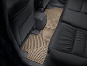 Honda CR-V 2007-2011 - Коврики резиновые, задние, бежевые. (WeatherTech) фото, цена