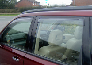 Hyundai Santa Fe 2006-2011 - Дефлекторы окон, комплект 4 штуки, дымчатые, EGR фото, цена