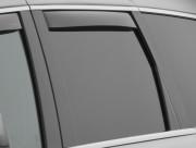 Jeep Grand Cherokee 2011-2016 - Дефлекторы окон (ветровики), задние, темные. (WeatherTech) фото, цена
