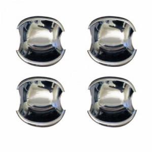 Toyota Camry 2006-2011 - Хромированные накладки под ручки (мыльници), нержавейка, к-т 4 шт. (Libao) фото, цена