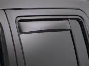 Hyundai Elantra 2005-2010 - Дефлекторы окон (ветровики) задние, темные, к-т 2 шт. (WeatherTech) фото, цена