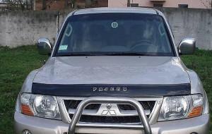 Mitsubishi Pajero 2000-2006 - Дефлектор капота (мухобойка), VIP Tuning фото, цена