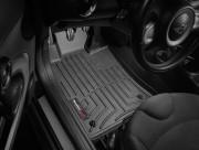 MINI Cooper 2007-2013 - Коврики резиновые с бортиком, передние, черные. (WeatherTech) фото, цена
