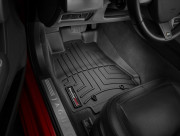 Jaguar XF 2008-2019 - Коврики резиновые с бортиком, передние, черные. (WeatherTech) фото, цена