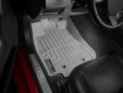 Jaguar XF 2008-2019 - Коврики резиновые с бортиком, передние, серые. (WeatherTech) фото, цена