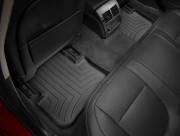 Jaguar XF 2008-2016 - Коврики резиновые с бортиком, задние, черные. (WeatherTech) фото, цена