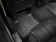 Jaguar XJ 2009-2016 - Коврики резиновые с бортиком, задние, черные. (WeatherTech) фото, цена