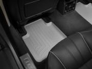 Jaguar XJ 2009-2016 - Коврики резиновые с бортиком, задние, серые. (WeatherTech) фото, цена