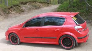 Opel Astra H 2004-2013 - (H/B) - Дефлекторы окон (ветровики), комлект. (Cobra Tuning) фото, цена