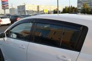 Nissan Tiida 2004-2013 - (H/B) - Дефлекторы окон (ветровики), комлект. (Cobra Tuning) фото, цена