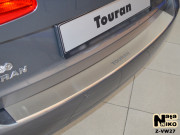 Volkswagen Touran 2010-2016 - Накладка на задний бампер с загибом. (UA) фото, цена