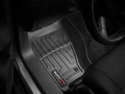 Jeep Cherokee 2008-2013 - Коврики резиновые с бортиком, передние, черные. (WeatherTech) фото, цена
