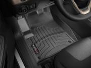 Jeep Cherokee 2014-2016 - Коврики резиновые с бортиком, передние, черные. (WeatherTech) фото, цена