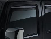 Jeep Wrangler 2008-2016 - Дефлекторы окон (ветровики) к-т 2 шт. (WeatherTech) фото, цена