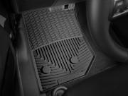 Jeep Wrangler 2014-2019 - Коврики резиновые, передние, черные. (WeatherTech) фото, цена