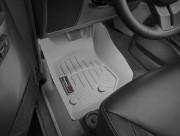 Jeep Wrangler 2014-2019 - Коврики резиновые с бортиком, передние, серые. (WeatherTech) фото, цена