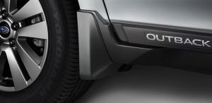 Subaru Outback 2015-2016 - Брызговики передние, черные, к-т 2 шт. (Subaru) фото, цена