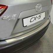 Mazda CX-5 2012-2016 - Накладка на задний бампер с загибом. (UA) фото, цена