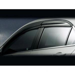Hyundai Santa Fe 2006-2011 - Дефлекторы окон (ветровики), к-т 4 шт, темные,