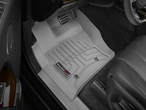 Land Rover Range Rover 2013-2017 - Коврики резиновые с бортиком, передние, серые. (WeatherTech) фото, цена