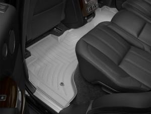 Land Rover Range Rover 2013-2017 - Коврики резиновые с бортиком, задние, серые. (WeatherTech) фото, цена