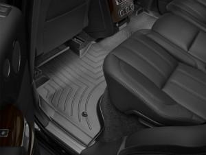 Land Rover Range Rover 2013-2017 - Коврики резиновые с бортиком, задние, черные. (WeatherTech) фото, цена