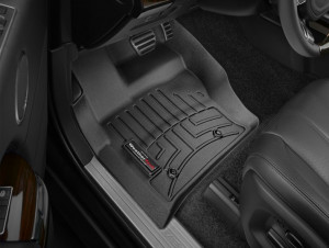 Land Rover Range Rover 2013-2017 - Коврики резиновые с бортиком, передние, черные. (WeatherTech) фото, цена