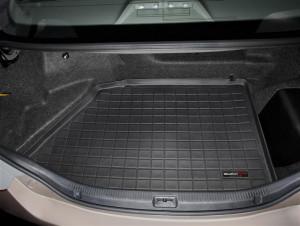 Toyota Camry 2006-2010 - Коврик резиновый в багажник, черный. (WeatherTech) Hybrid фото, цена