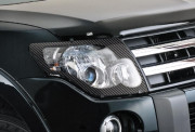 Honda CR-V 2007-2010 - Защита передних фар, карбон. (EGR)  фото, цена