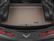 Chevrolet Corvette 2014-2016 - Коврик резиновый в багажник, бежевый. (WeatherTech) фото, цена