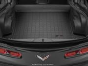 Chevrolet Corvette 2014-2016 - Коврик резиновый в багажник, черный. (WeatherTech) фото, цена