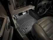 Hummer H2 2002-2009 - Коврики резиновые с бортиком, передние, черные. (WeatherTech) фото, цена